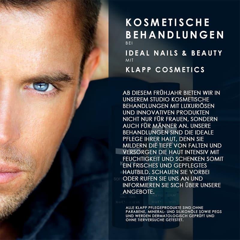 kosmetische behandlungen flyer